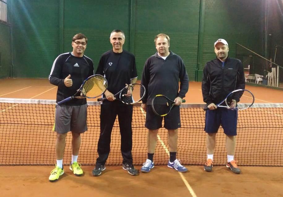 Liga SGNH de Tênis realiza Torneio de Duplas