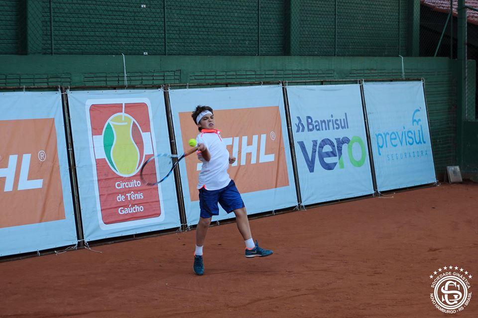 Circuito de Tênis Gaúcho define campeões em Novo Hamburgo