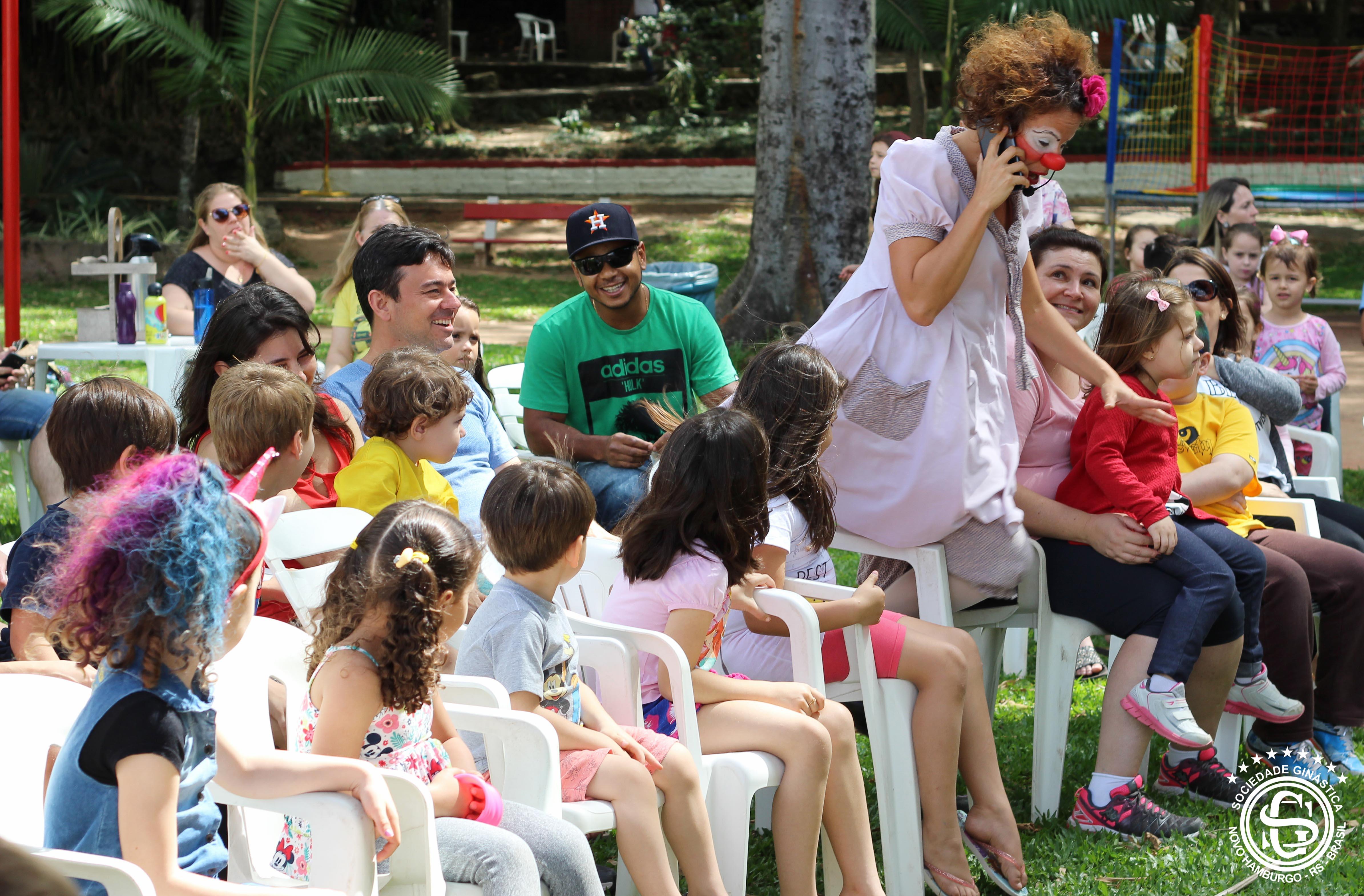 Diversão na Festa Dia das Crianças da Ginástica