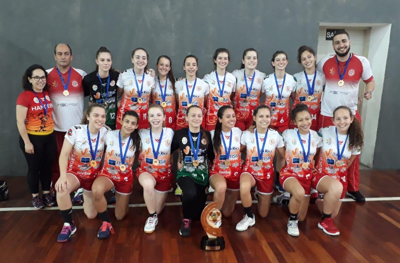 Handebol da Ginástica é bronze no Brasileiro de Clubes