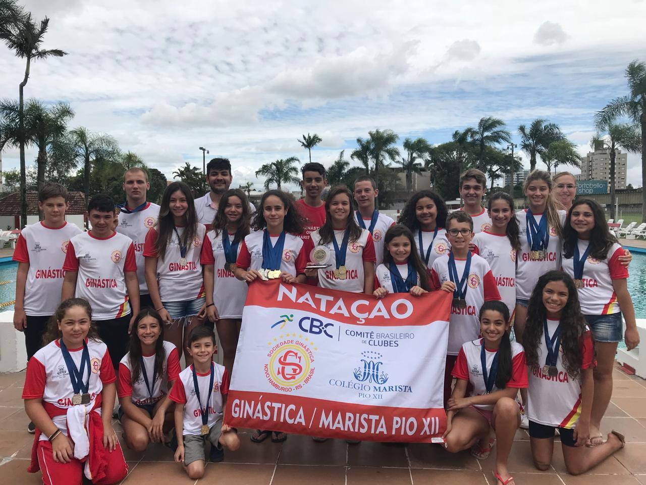Natação traz medalhas do Estadual Geral