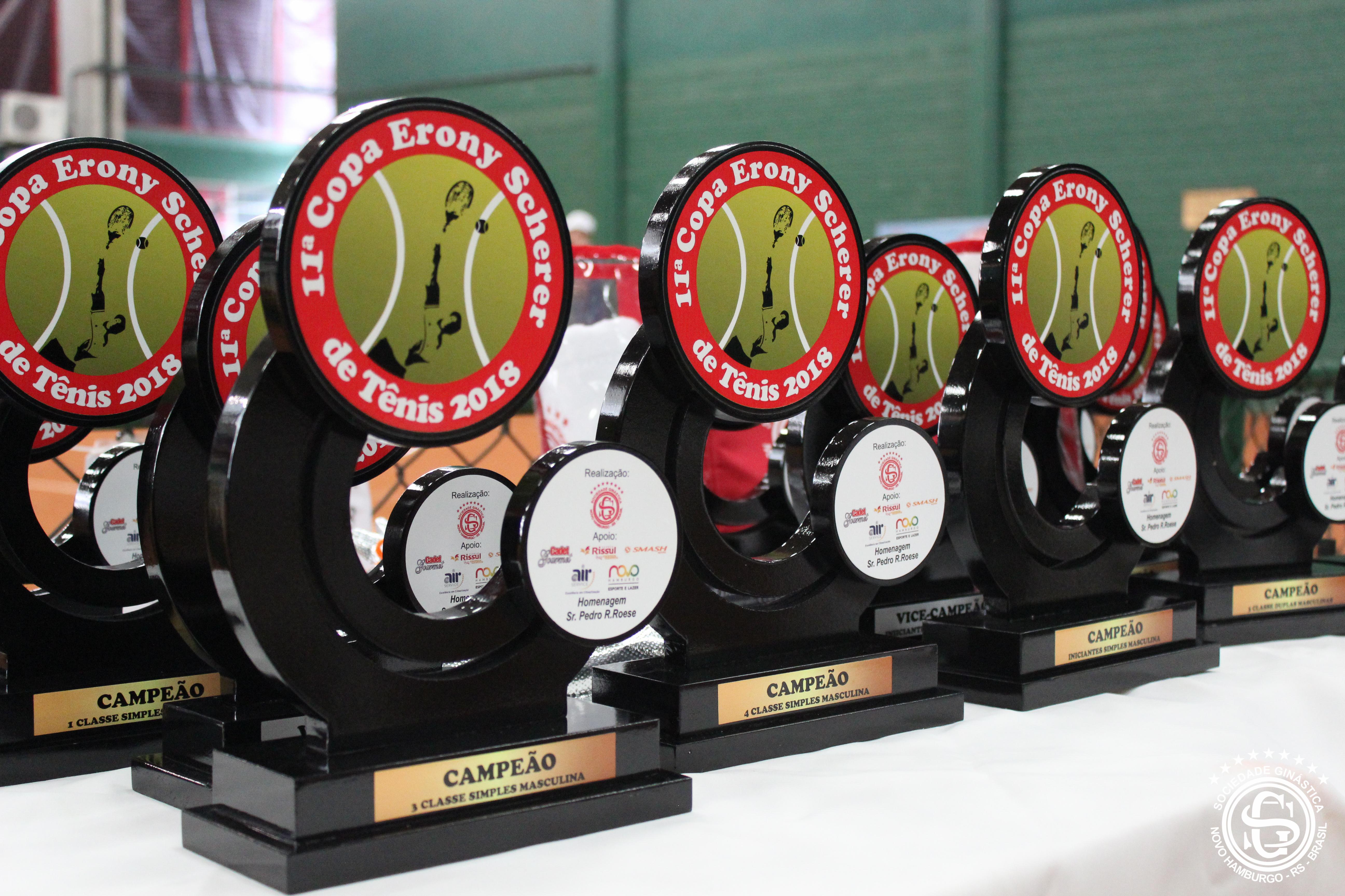 11ª edição da Copa Erony Scherer de Tênis encerra com sucesso